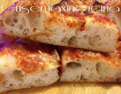 Impasto+fatto+a+mano+pizza+Bonci,+ricetta+lievitata