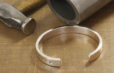 Heavy Silver Torque Bracelet for Men