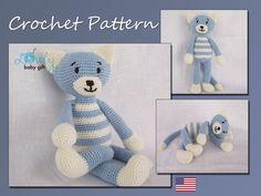 Crochet Pattern Amigurumi Cat Crochet Pattern von LovelyBabyGift