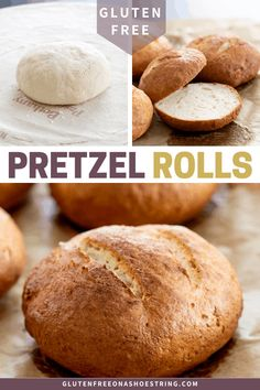 Gluten free pretzel rolls, with their crisp and chewy crust and super fluffy crumb, will quickly become your favorite sandwich roll.