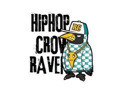 Hiphop crow RAVEN - version1 -Extreme character design - designed by DOLDOL