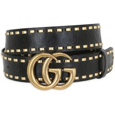 Gucci Women Gg Marmont Leather Belt ($585) ❤ liked on Polyvore featuring accessories, belts, black, leather belts, buckle belt, gucci, adjustable leather belt and leather buckle belt