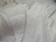 J BRAND JEANS WHITE MARTINI FLARE Size 25 EUC  #JBrand #Flare