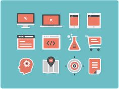 Flat Icons, #Flat, #Free, #Graphic #Design, #Icon, #PSD, #Resource