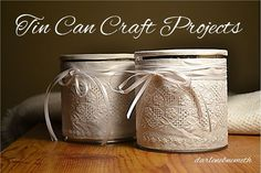 tin can craft projects quick simple and beautiful, crafts, repurposing upcycling