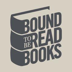 Bound to be Read Books Logo by Rob Hurst, via Behance