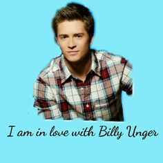 I love billy Unger ❤️♥️