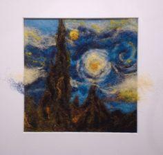 Dry Felting and van Gogh  http://www.deviantart.com/?loggedin=1#/d4vpwh3