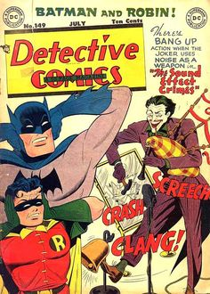 Comic Book Critic - Google+ - Detective Comics #149 (Jul '49) cover by Dick Sprang.