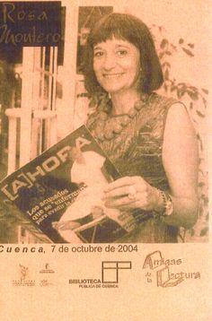 """Taller de Lectura de la Biblioteca Pública de Cuenca """"Fermín Caballero""""   Encuentro con Rosa Montero Octubre 2004 #Cuenca #Libros #AnimacionLectura #TallerLecturaBibliotecaPublicaCuencaFerminCaballero"""