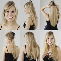 Brazilian #hairextensions looks similar to the end of a long fingernail can be used with most heat connectors, can be treated exactly the same as your own hair and can be removed from your hair easily http://goo.gl/9VZ3hh