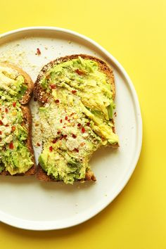 Vegan Avocado Toast | Minimalist Baker Recipes  Find healthy, delicious recipes at www.MarysLocalMarket.com Sustainable-Natural-Community  #maryslocalmarket