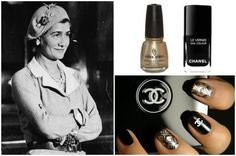 DIY Chanel Inspired Manicure