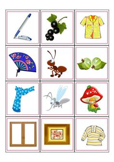 Карточки Fun Worksheets For Kids, Russian Language Learning, English Fun, English Classroom, Baby Games, Matching Games, Phonics, Cute Drawings, Kids And Parenting