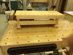 Detail Workbench for my Workbench Jet Woodworking Tools, Woodworking Workbench, Custom Woodworking, Woodworking Projects, Welding Projects, Small Workbench, Portable Workbench, Workbench Plans, Garage Workbench