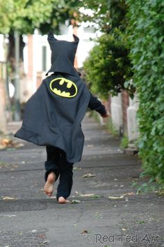 batman costume patte