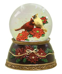 Take a look at this Cardinal Snow Globe by Roman, Inc. on #zulily today!
