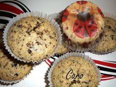 Muffins con chocolate y semillas de chía