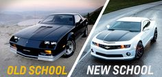 It's that time again! Which #Camaro #design are you a fan of? Repin for New School, like for Old School.