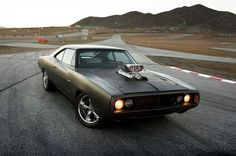 Dom Toretto's 1970 Dodge Charger #FastAndFurious #cars