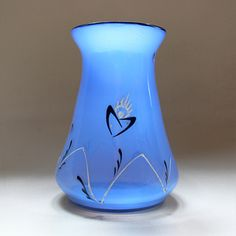 Loetz Tango vase with enamel decor | Collectors Weekly