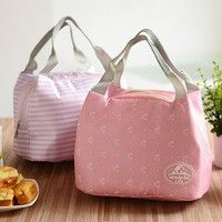 Wish | Thermal Insulated Lunch Box Storage Bag Picnic Carry Pouch