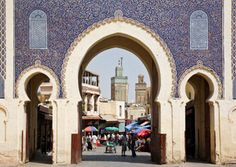 Fez, Morocco  Self-guided or official walking tours through the ancient, mazelike medina reveal merchants hawking spices, ceramics, textiles...