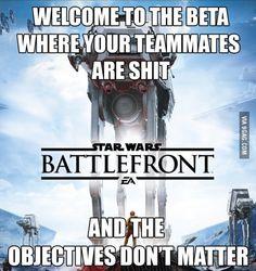 My Star Wars Battlefront Beta experience so far