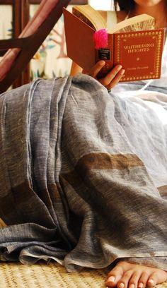 Linen Sarees by Anavila Misra - original pin by @webjournal