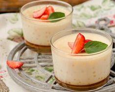Petites crèmes légères au caramel pour utiliser des jaunes d'oeufs