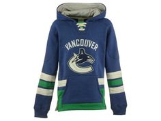 Vancouver Canucks NHL CN Youth Retro Skate Hoodie