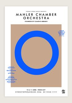 Mahler Chamber Orchestra by Leah Procko, via Behance