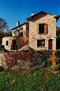 Traditional stone house in Milies, Pelion