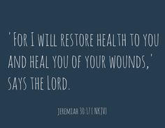 Jeremiah 30 17 15 prayer for the sick quotes Healing Scriptures, Prayers For Healing, Bible Scriptures, Praying For Healing Quotes, Spiritual Quotes, Scripture For Healing, Bible Prayers, Spiritual Growth, The Words