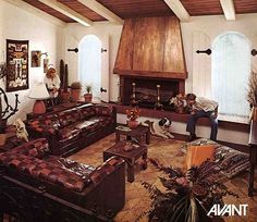 Kroehler sofas and loveseats from 1976~~