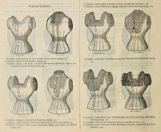 1888 corset covers - Vintage Ephemera: fashion and fashion plates