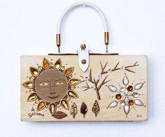 Enid Collins of Texas 4 Seasons Box Bag by niwotARTgallery on Etsy, $265.00