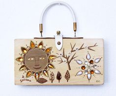 Enid Collins of Texas 4 Seasons Box Bag by niwotARTgallery on Etsy, $220.00