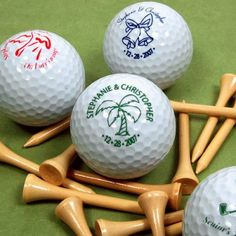 Personalized Wedding Golf Balls I think you should have a basket of these