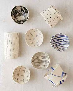 Ceramics Drippy Pinch Bowl : Awesome stuff for you & your space: Awesome stuff for you & your space Ceramic Clay, Ceramic Plates, Ceramic Pottery, Slab Pottery, Thrown Pottery, Pottery Painting, Ceramic Painting, Keramik Design, Sculptures Céramiques