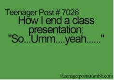 I do this unless it's a Spanish presentation.