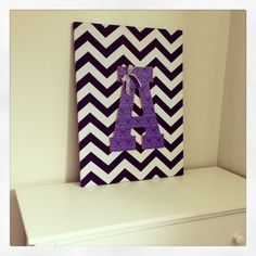 Letter DIY baby decor girlie  I think I'll do something like this for Mahkai