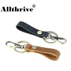 ddca860f9072c Nowy Vintage Handmade Genuine Leather Brelok Breloczki Breloczki dla  mężczyzn Torba samochodowa Wisiorek kolor brązowy Breloki