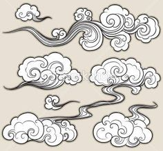 Image result for asian cloud tattoo