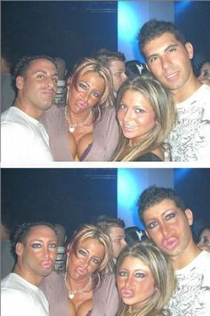 STOP with the fucking Duck Face --NOT A GOOD LOOK!