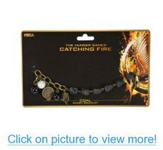 NECA The Hunger Games: Catching Fire Charm Coal Bracelet