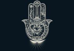Hamsa - Hand of Fatima  Artwork