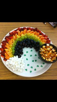 Cute St. Patricks day food
