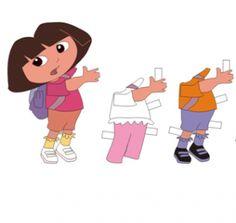 Free Dora The Explorer Printable Paper Dolls