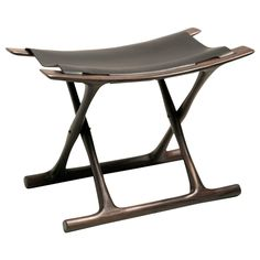 Egyptian Folding Stool in Indian Rosewood by Ole Wanscher 1
